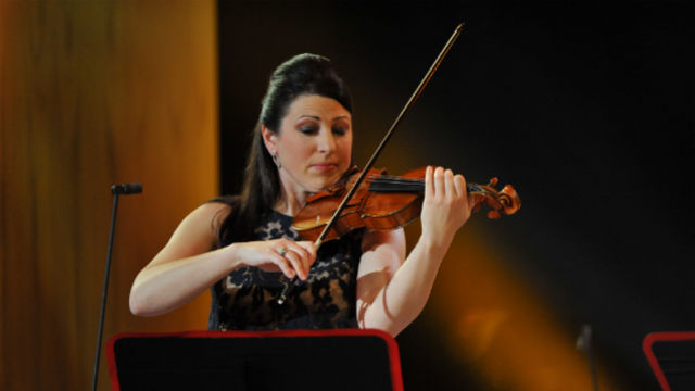Amy Schwartz Moretti, McDuffie Center for Strings director and former Oregon Symphony concertmaster,