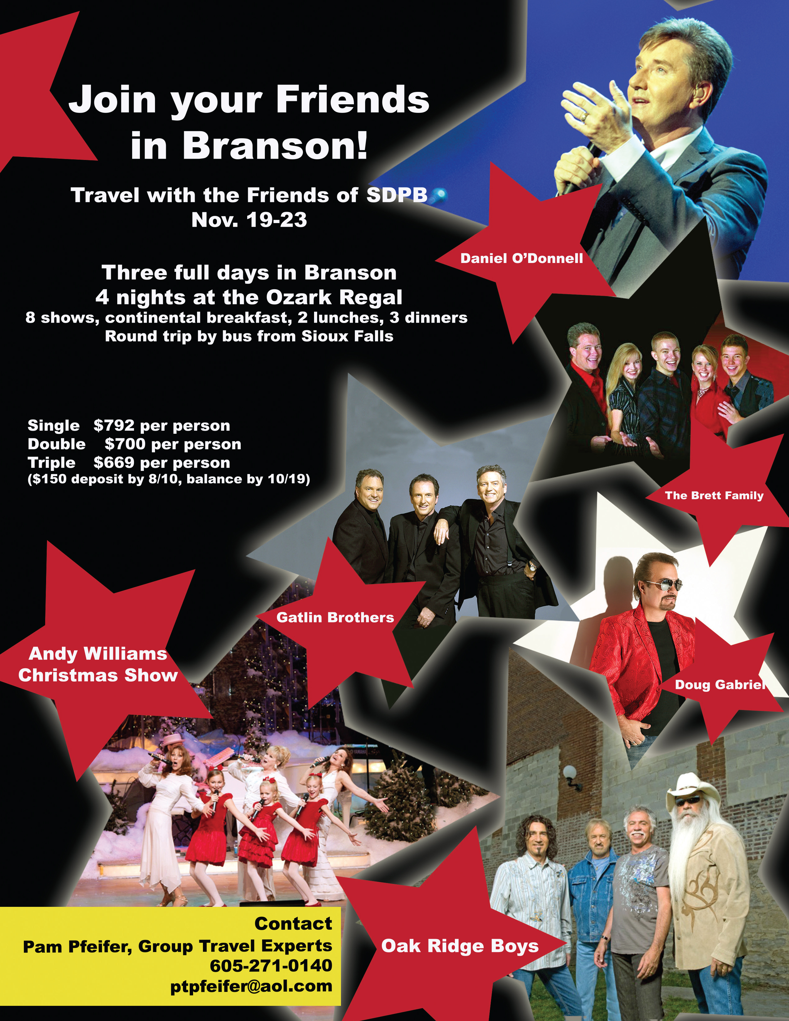 Travel with SDPB to Branson promo image