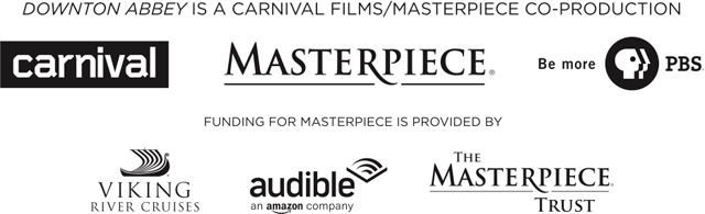 Downton Abbey is a Carnival Films/Masterpiece co-production. Funding for Masterpiece is provided by Viking River Cruises, Audible, and the Masterpiece Trust.
