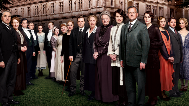 Downton Abbey: Season 3 cast.