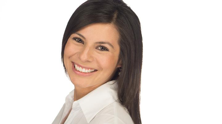 Somos Hispanos host Nina Espinoza