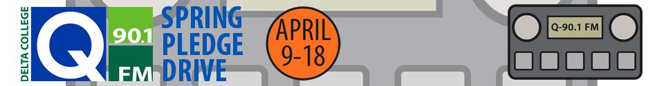 Q-90.1 FM Spring Pledge Drive April 9-18