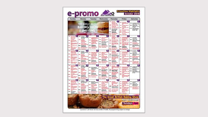 Primetime Calendar