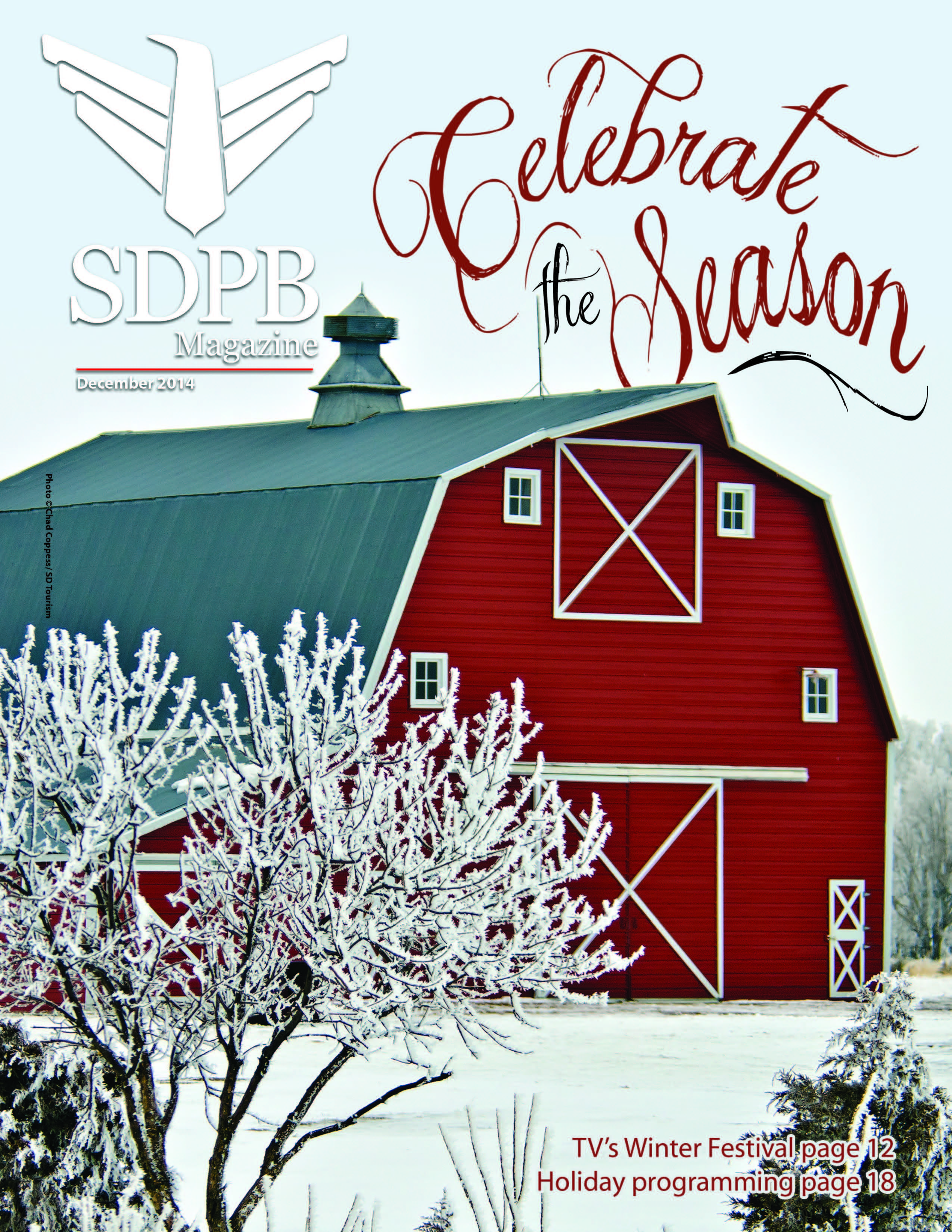 sdpb magazine december cover image