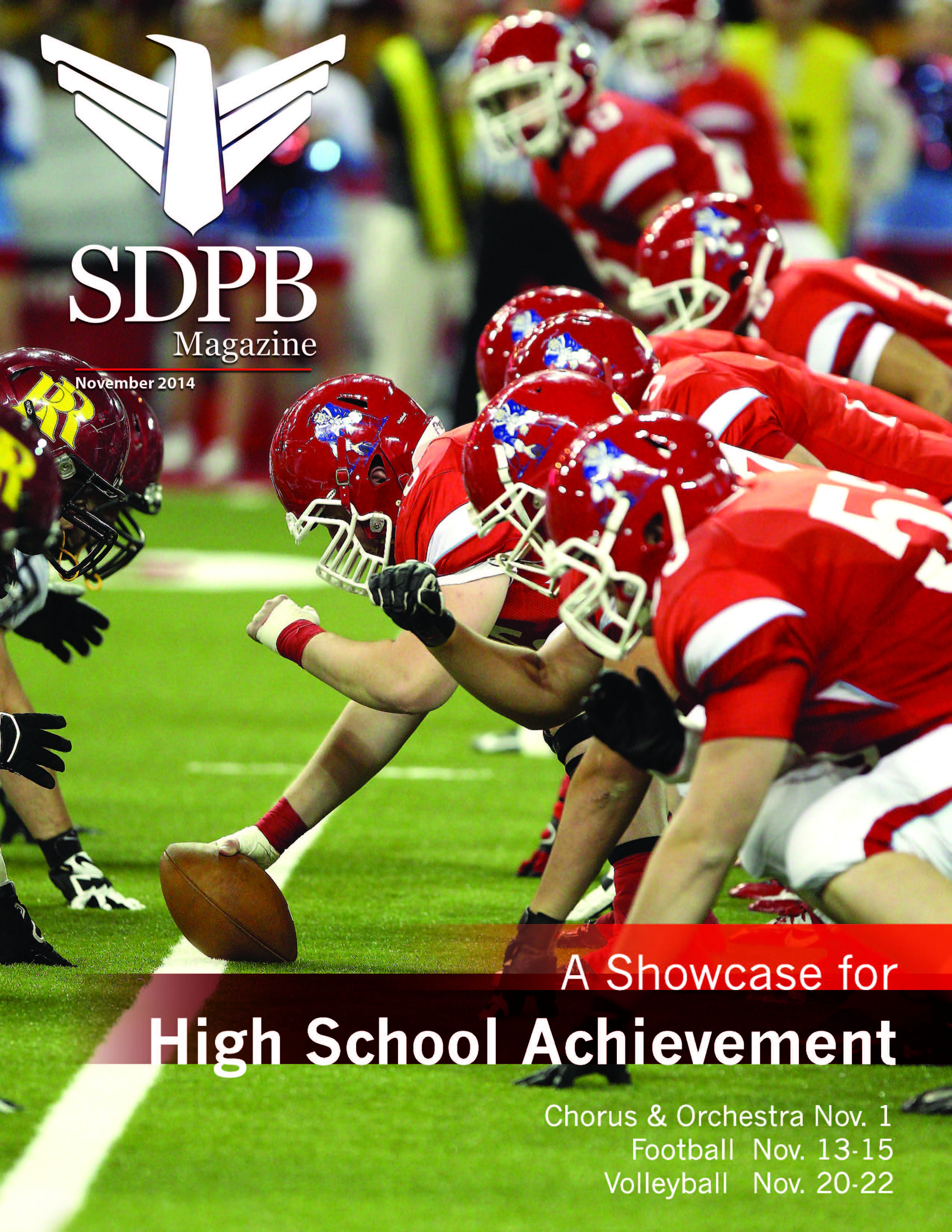 image of the sdpb magazine cover