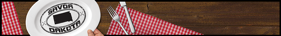 savor dakota banner