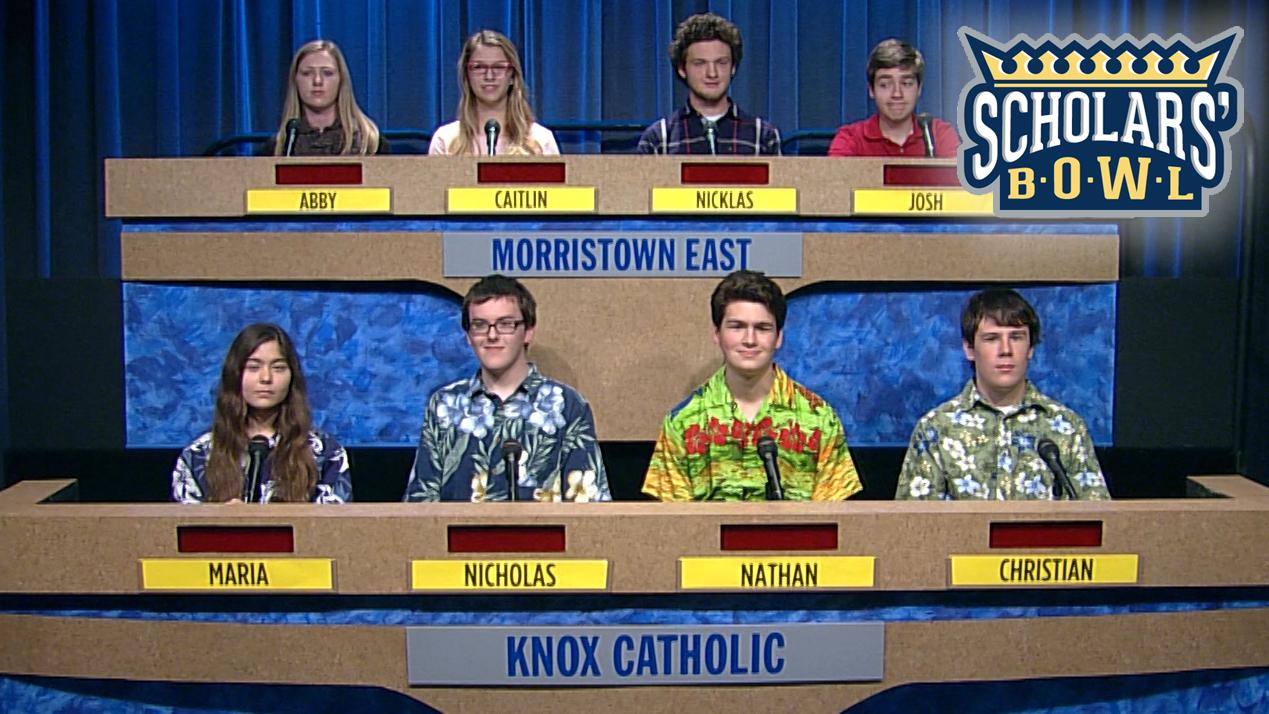 Scholars' Bowl - Friday at 5:30 p.m.
