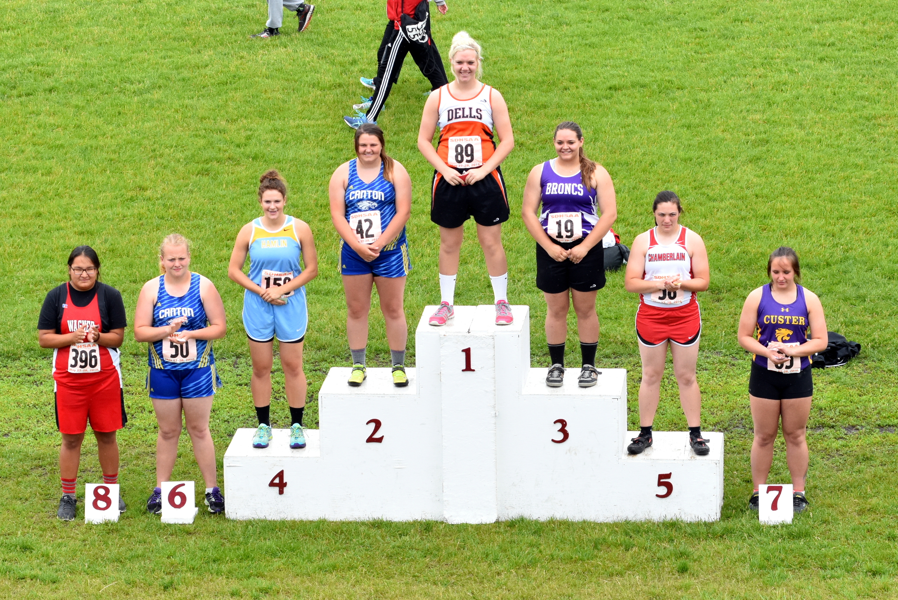2016 Girls A - Discus