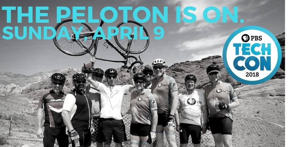 The TechCon Peloton is on!