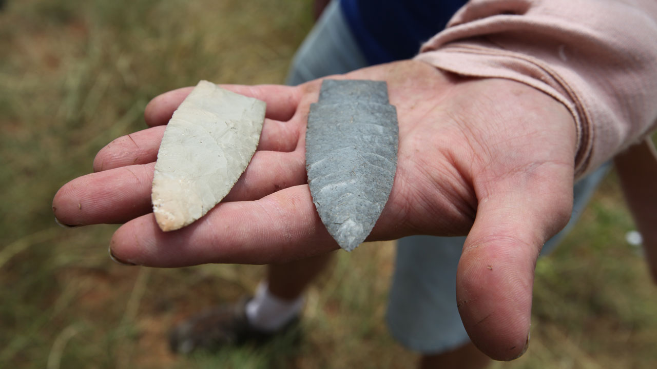 Flintknapping