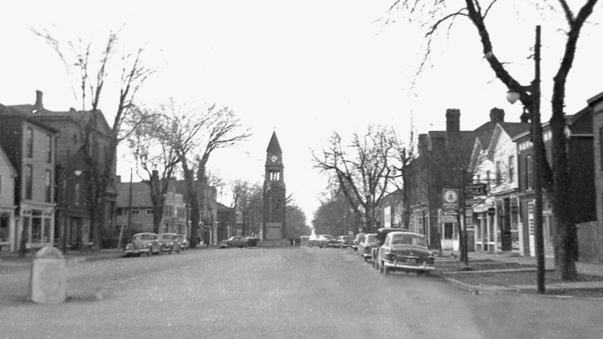 Queen Street in Niagara-on-the Lake in the early 1960's.