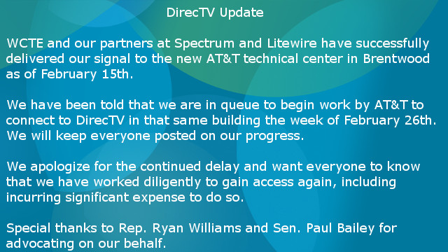 DirecTV update