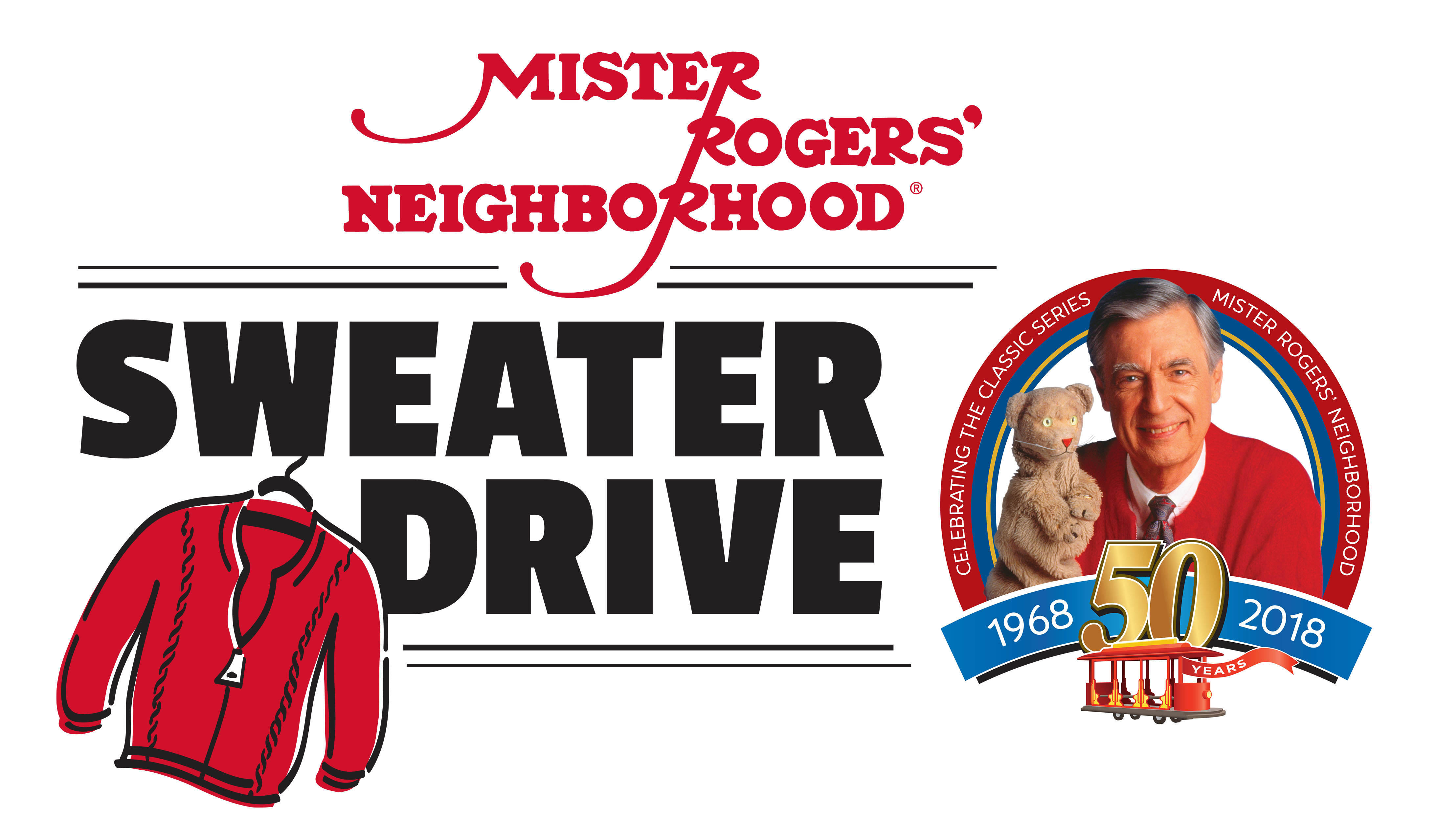 Mister Rogers' Neighborhood Sweater Drive
