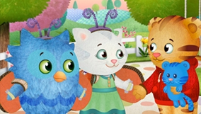 Make your own Daniel Tiger wrapping paper