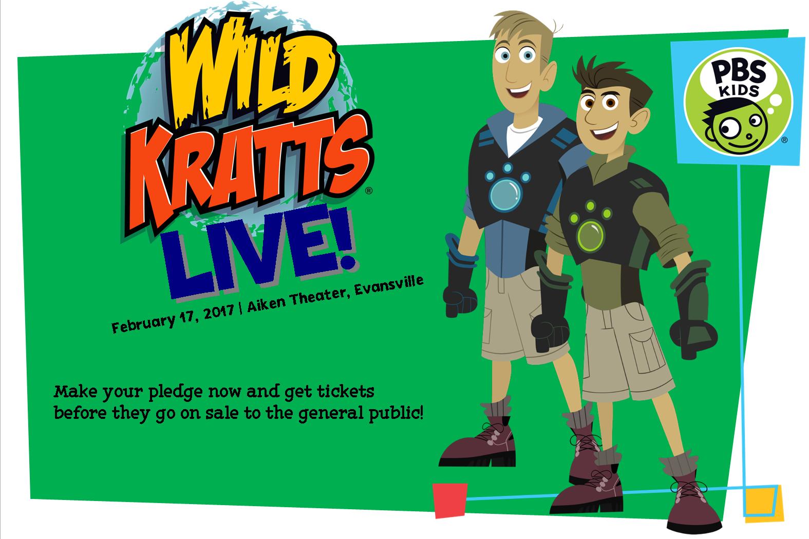 Wild Kratts Live! Tickets