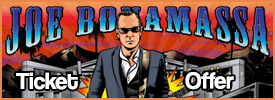 Joe Bonamassa Ticket Offer
