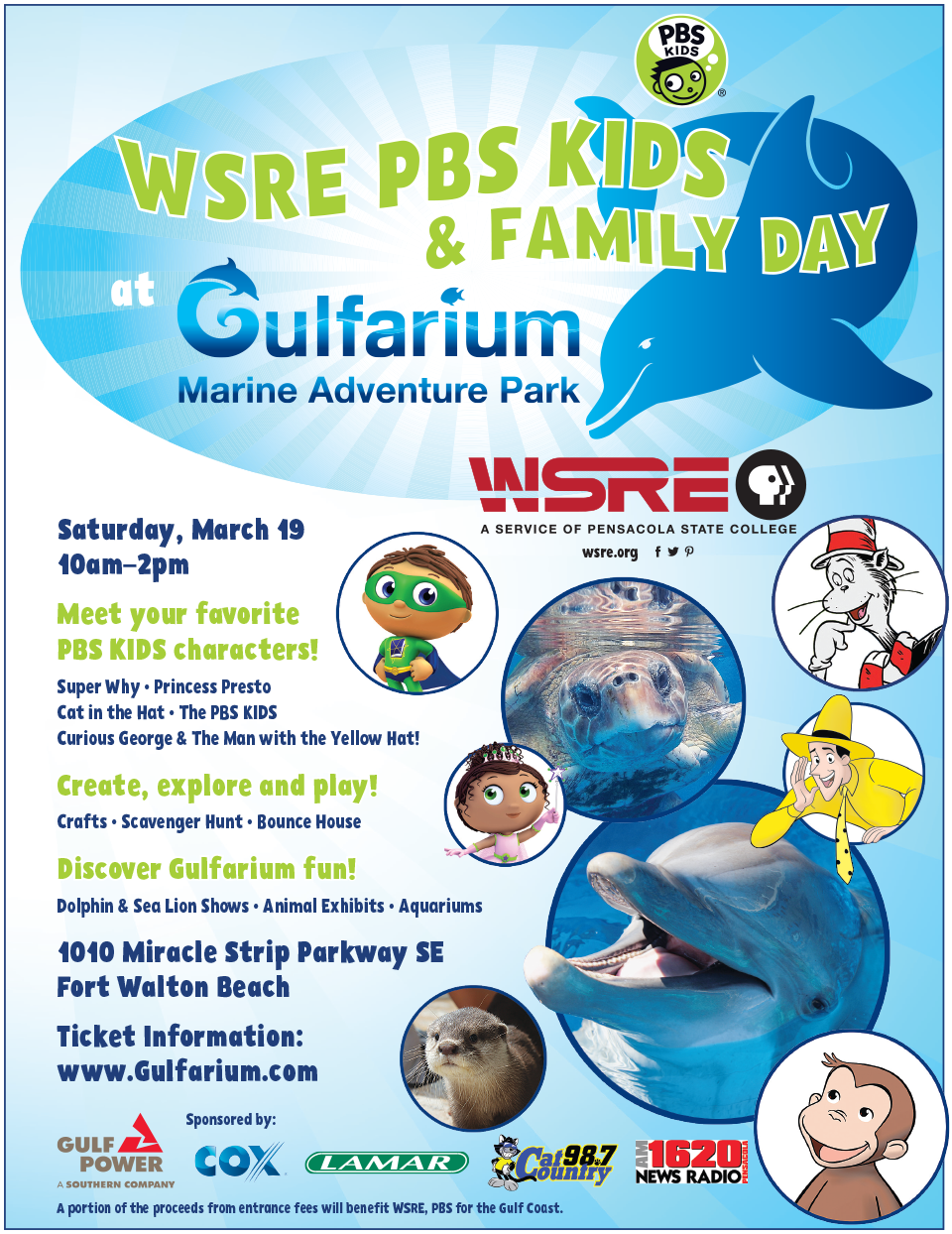 16018-0216 Gulfarium PBS Kids day flyer.png