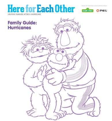 Sesame Street Hurricane Resources