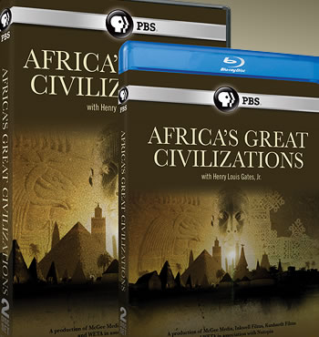 Africa's Great Civilizations DVD and Bluray covers