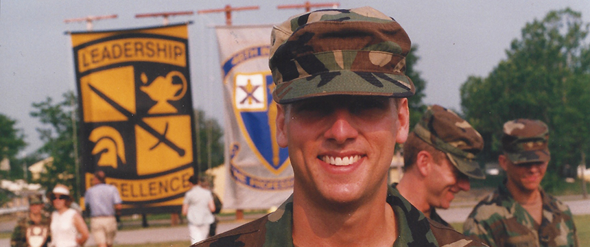Kristofor Stonesifer in Ranger school