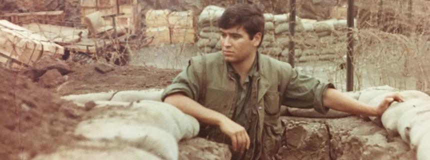 Bill Rider serving in Vietnam