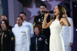 Broadway star Laura Benanti performs a patriotic medley on the 2015 National Memorial Day Concert.