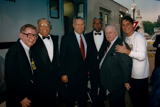 James Earl Jones, Gen. Colin L. Powell, Ossie Davis, Charles Durning and Tony Danza at the 1997 National Memorial Day Concert.