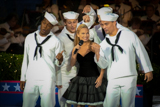 Kristen Chenoweth performs World War I and II standards on the 2001 National Memorial Day Concert.