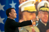 Tom Hanks pays tribute to World War II veterans on the 2004 National Memorial Day Concert.