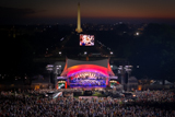 The National Memorial Day Concert is performed on the West Lawn of the U.S. Capitol.