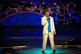 On the 2004 National Memorial Day Concert, Brian Stokes Mitchell performs a tribute to wounded warriors.