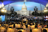 Jack Everly conducts the National Symphony Orchestra on the National Memorial Day Concert.