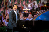 Lionel Richie performs Stuck on You on the 2010 National Memorial Day Concert.