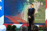 Gary Sinise honors those who served in the Korean War at the National Memorial Day Concert