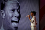Natalie Cole sings Walking My Baby Back Home at the 2012 National Memorial Day Concert