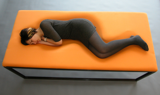 Tanya Aguiñiga, Embrace Lounge, Todd Beattie photograph