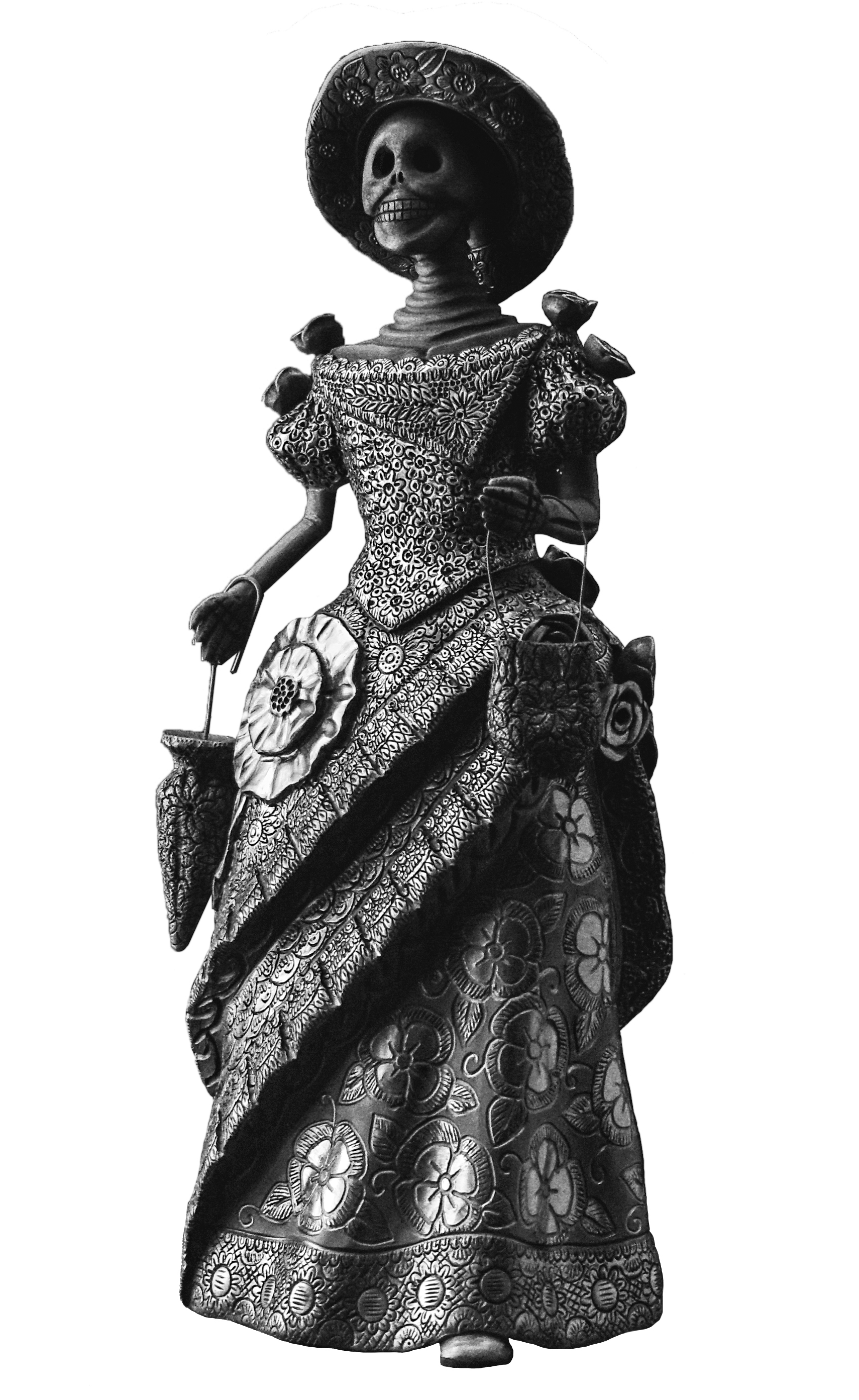 Magdalena Pedro Martínez, Catrina sculpture