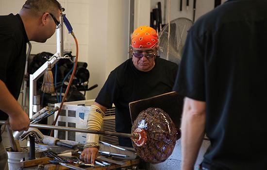Gerardo Munoz at Garcia Art Glass.