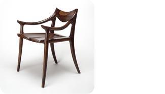 Sam Maloof, Side Chair.