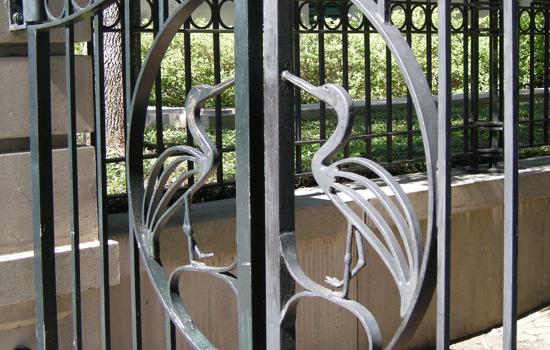 Philip Simmons, Egret Gate