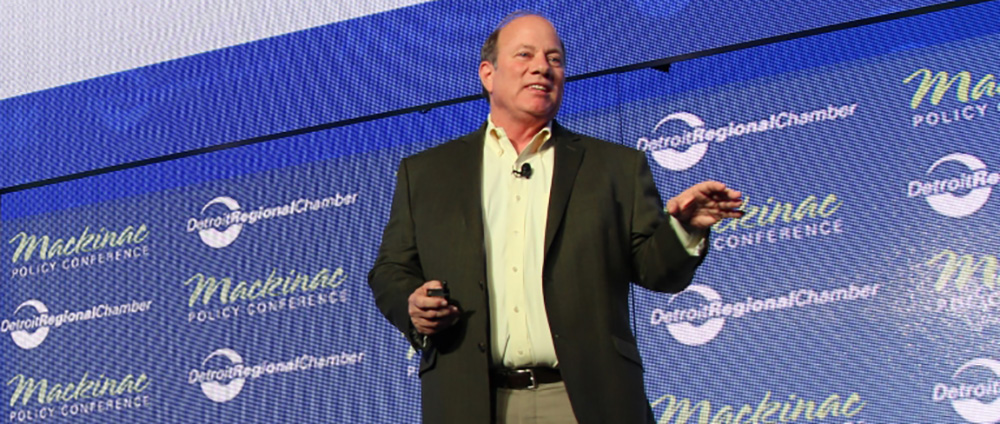 Detroit Mayor Duggan will speak at the Mackinac Policy Conference 2017