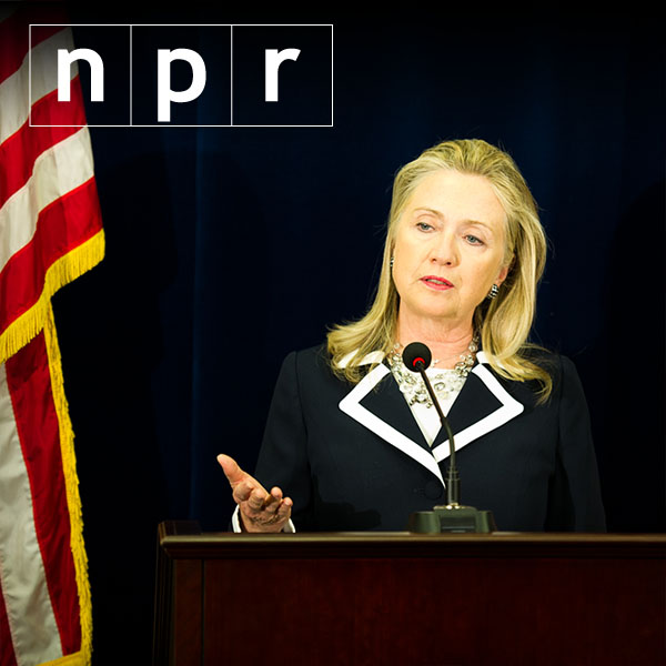 Has Clinton actually been dodging the press?