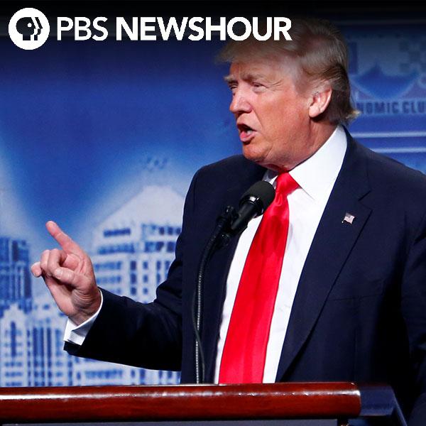 Trump meets with minority leaders ahead of Clinton speech
