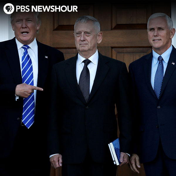 Trump to nominate retired Gen. James Mattis to lead Pentagon
