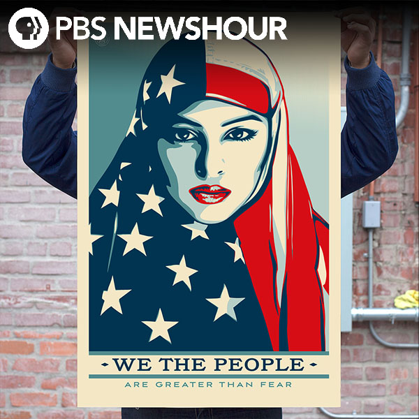 Trump's not on Shepard Fairey's inauguration protest posters