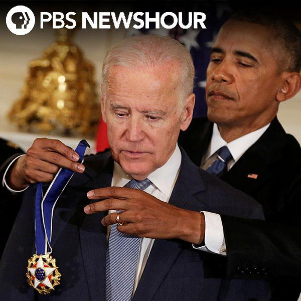 Obama awards Biden the Presidential Medal of Freedom