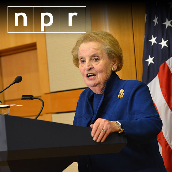 Albright: 'Almost too hard to express' Clinton excitement