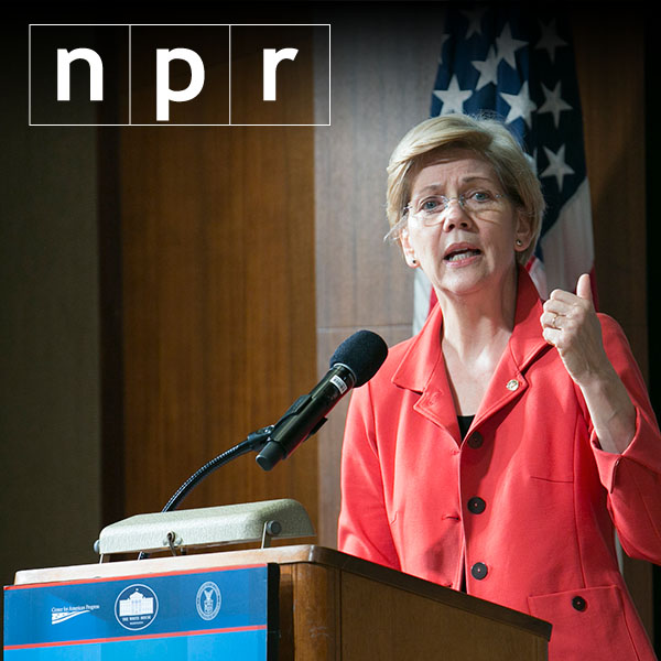 AP fact check: Some debatable Warren claims at Clinton stop