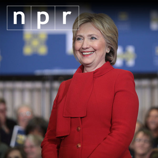 Clinton's changing positions over a long career