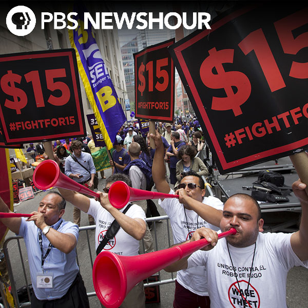 Where do the presidential candidates stand on minimum wage?